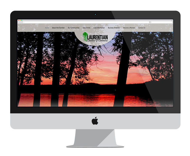 Laurentian Chamber of Commerce: Minnesota web design and development - professional services