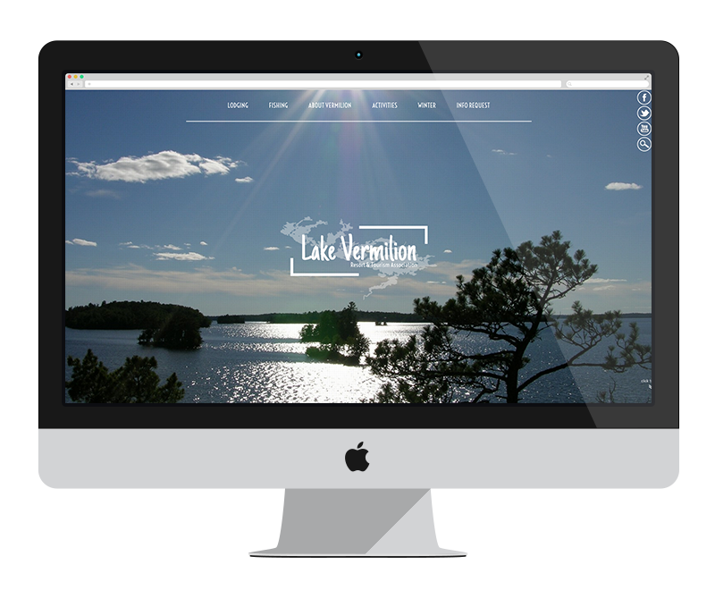 Lake Vermilion Resort Association: Minnesota web design and development - tourism