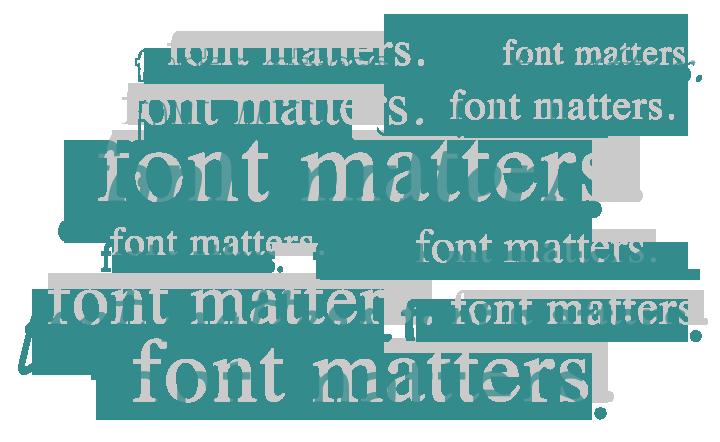 font-matters