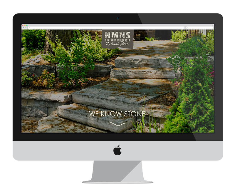 Northern MN Natural Stone: Minnesota web design and development - construction