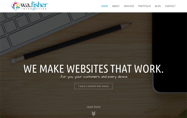 Minnesota Web Design Development W.A. Fisher