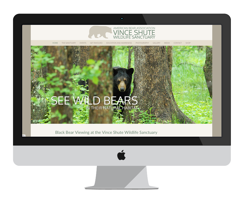 American Bear Association: Minnesota web design and development - tourism